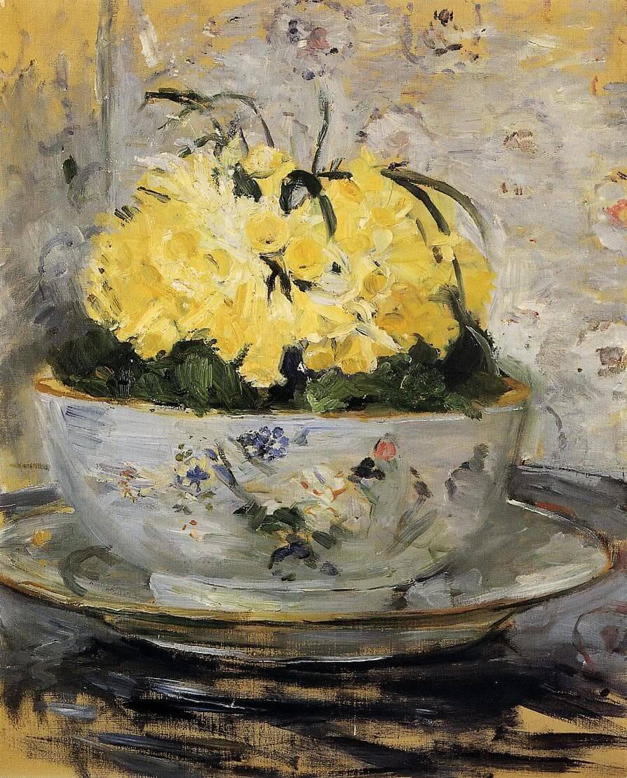"""""""Narcisos"""", de Berthe Morisot"""